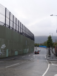 The Peace Walls. Belfast, Northern Ireland.