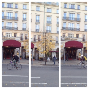 Bikers in Berlin