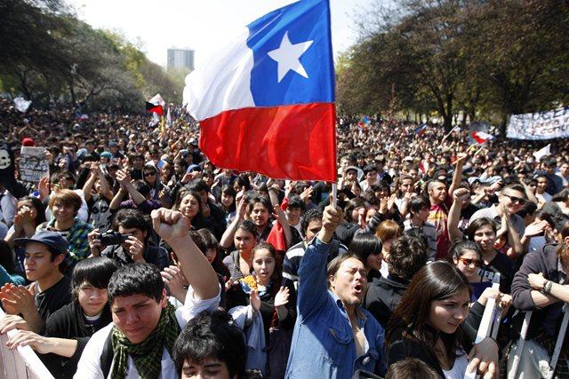 Chile-protesta
